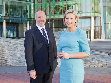Ruth Curran named managing partner of Merc PartnersPictured: Barry O'Connor and Ruth Curran